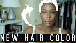 Light Everyday makeup and hair color
