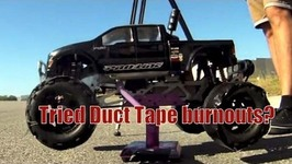 Twin Engine Duct Tape Burnouts