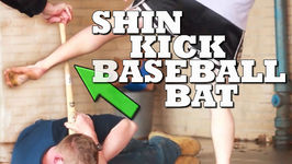How To Break A Baseball Bat With One Shin Kick