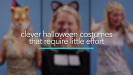 Clever Halloween costumes that require little effort