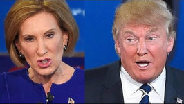 Trump And Fiorina Face Off In GOP Debate
