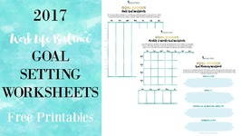 How to make your 2017 Resolutions Stick All Year! Free Printables