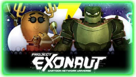 Multiplayer Action Games Project Exonaut Cartoon Network
