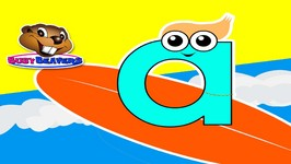 Surfing the ABCs - Kids Catchy Alphabet Song - Early Childhood Education - Learn English ABCs