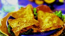 Three-Cheese Chicken Enchiladas