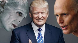 Rick Scott a.k.a. Voldemort Backs Donald Trump