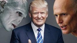 Rick Scott a.k.a. Voldemort Backs Donald Trump